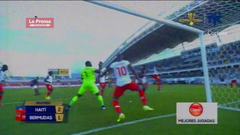 Haití 2-1 Bermudas (Copa Oro)