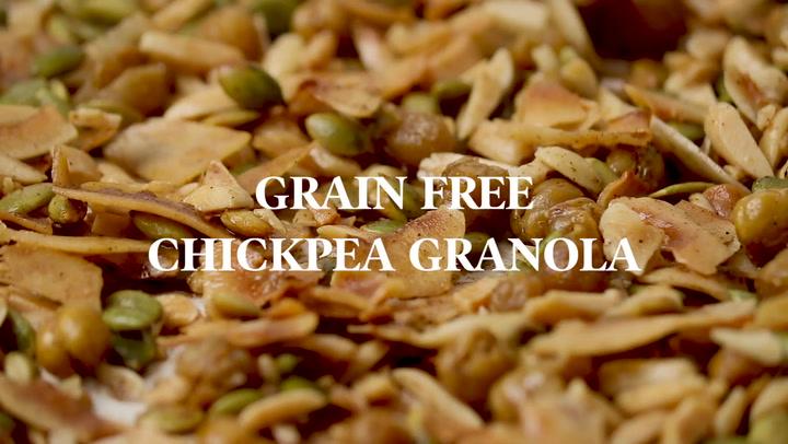 Grain Free Chickpea Granola Darn Good Veggies
