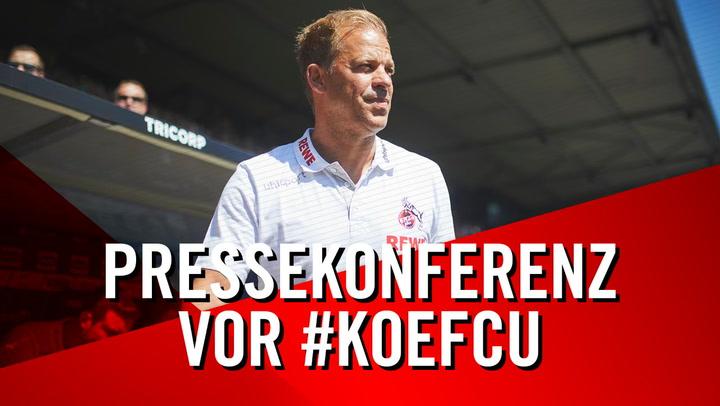 Pressekonferenz vor Union Berlin