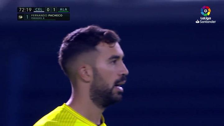 LaLiga: Celta - Alavés. Asi fue el partido de Pacheco