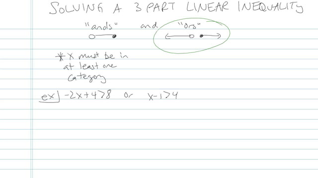 Solving a Three-part Linear Inequality - Problem 2