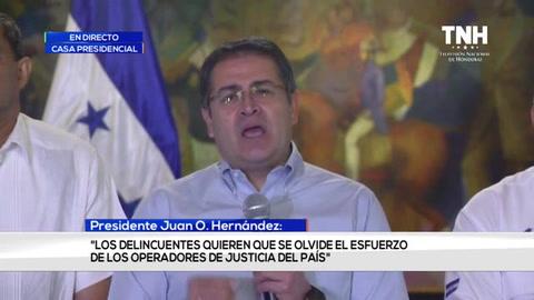 JOH: este veredicto no es en contra del estado de Honduras