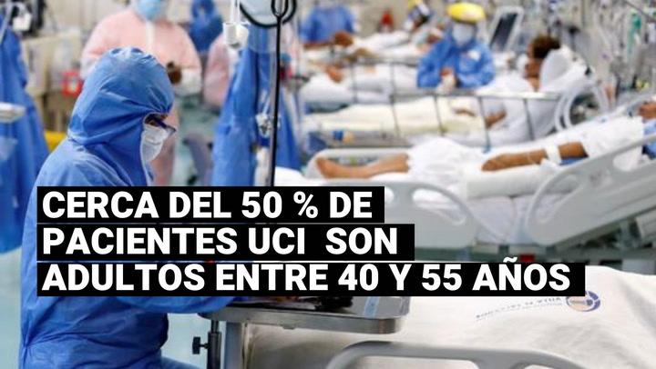 Coronavirus Perú: cerca del 50 % de pacientes UCI del Sabogal son adultos de entre 40 y 55 años