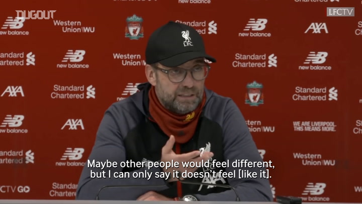 Klopp amazed by Liverpool's consistency