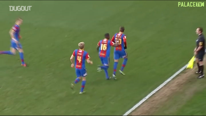 Andre Moritz's double inspires Palace victory over Wolves