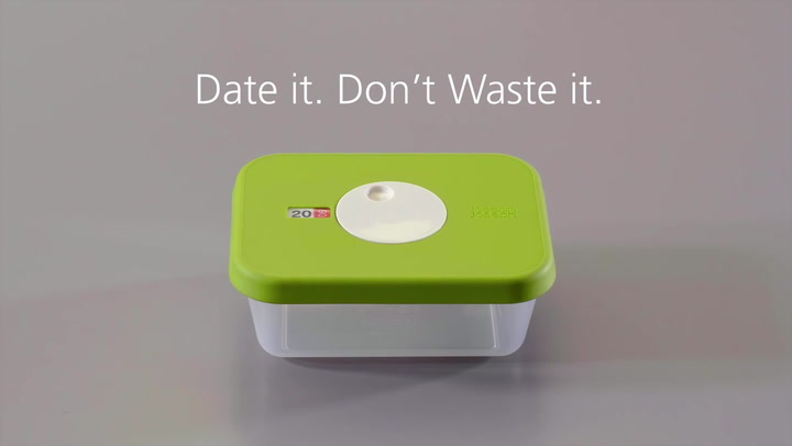Preview image of Dial™ Food storage containers with datable lid.m video