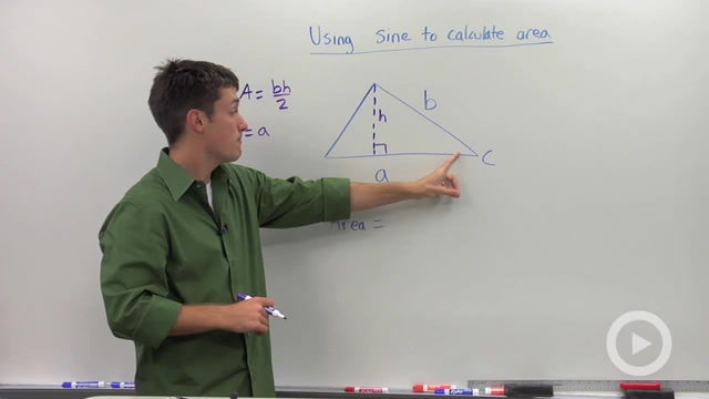 Using Sine to Calculate the Area of a Triangle