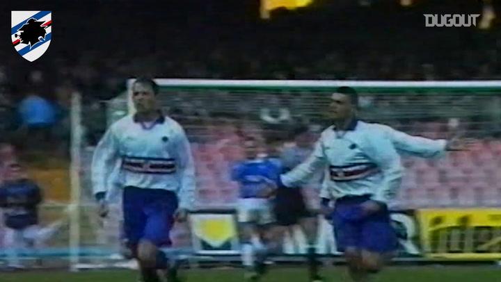 Mihajilovic's amazing freekick vs Napoli