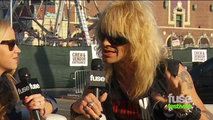 Festivals:Bamboozle: Michael Monroe at Bamboozle 2012