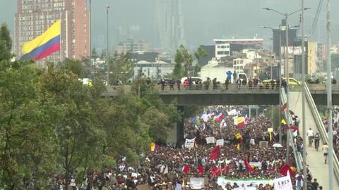 Las protestas que sofocan a Duque en Colombia desde 2019