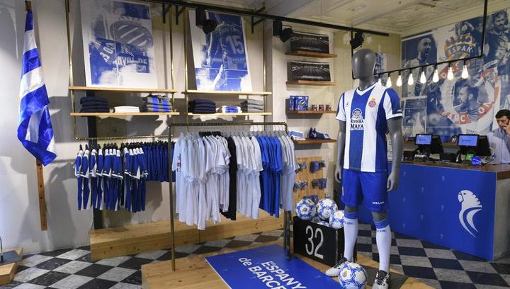 El Espanyol abre la RCDE Store en La Rambla