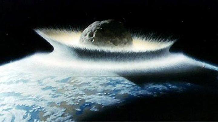 Sannsynligvis blir jorden truffet av stor asteroide