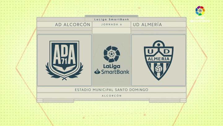 LaLiga SmartBank (J6): resumen y goles del Alcorcón 0-4 Almería