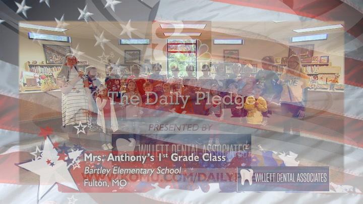 Bartley Elementary - Mrs. Anthony - 1st Grade
