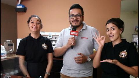 Sign coffee, un espacio que promueve el lenguaje de señas en San Pedro Sula