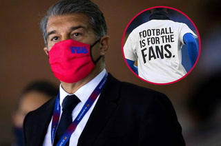 Joan Laporta rompe el silencio sobre la Superliga: