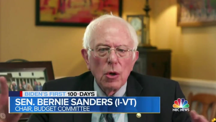 Bernie Sanders says US has 'moral responsibility' to waive vaccine patents