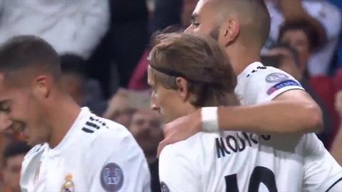 Real Madrid 2 - 1 Viktoria Plzen (Uefa Champions League)