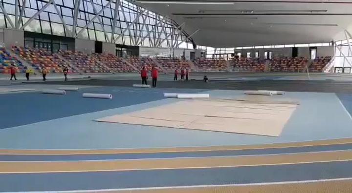 La pista cubierta de atletismo de Sabadell funcionará como hospital de campaña