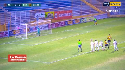 Video: Rony Martínez anota y Real España está venciendo 0-1 al Alianza de El Salvador