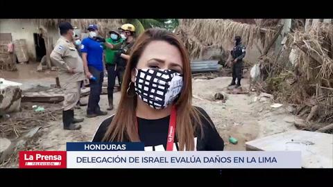 Delegación de Israel evalúa daños en La Lima
