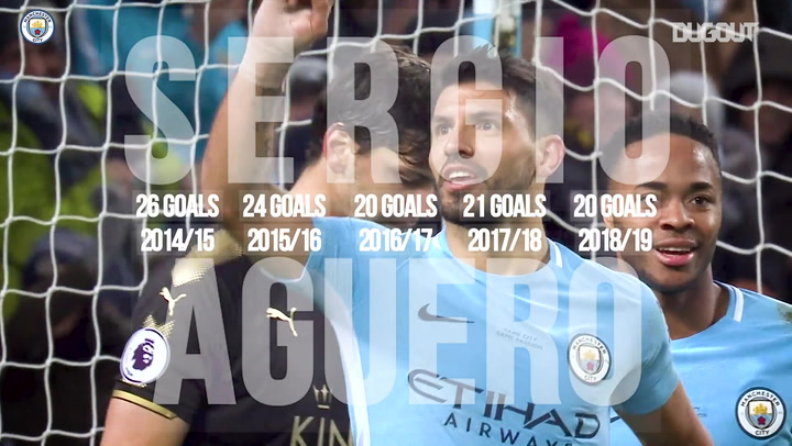 Aguero Hits 20 Premier League Goals For Fifth Consecutive Season