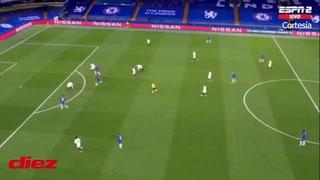 Werner esta vez no falla y marca el primero del Chelsea ante Real Madrid en la Champions