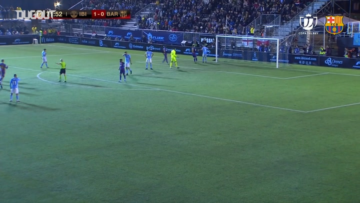 Antoine Griezmann's two goals vs Ibiza