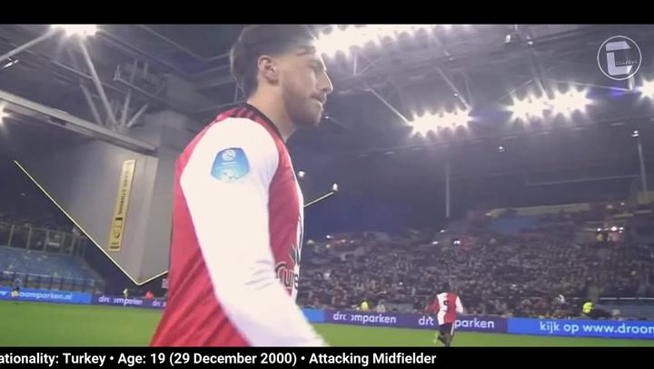 Orkun Kökçü, así juega el jugador del Feyenoord