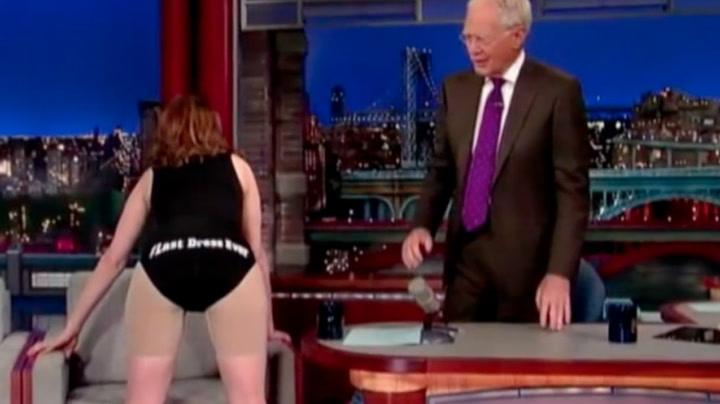De 10 beste øyeblikkene hos Letterman
