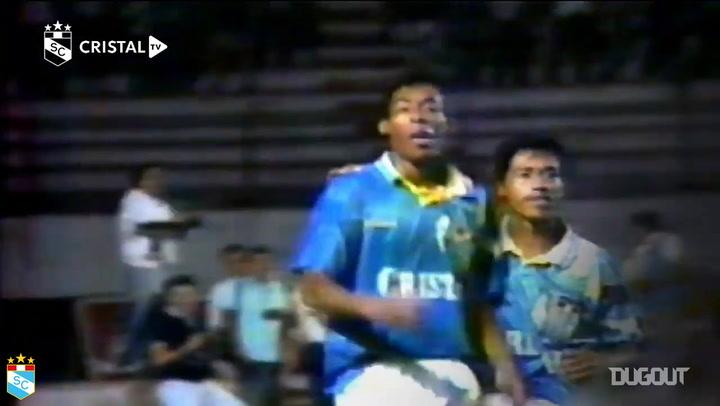 Percy Olivares's goal vs El Nacional