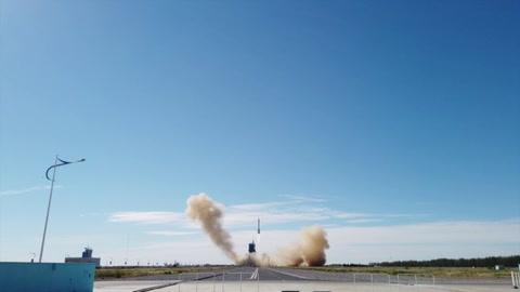 Los astronautas chinos despegaron hacia su estación espacial