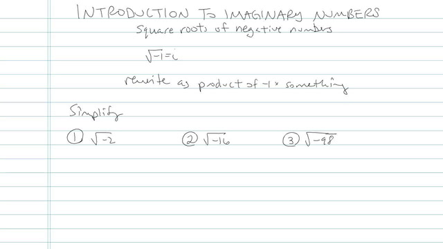 Introduction to Imaginary Numbers - Problem 5
