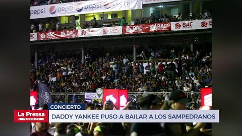 Daddy Yankee puso a bailar a los sampedranos