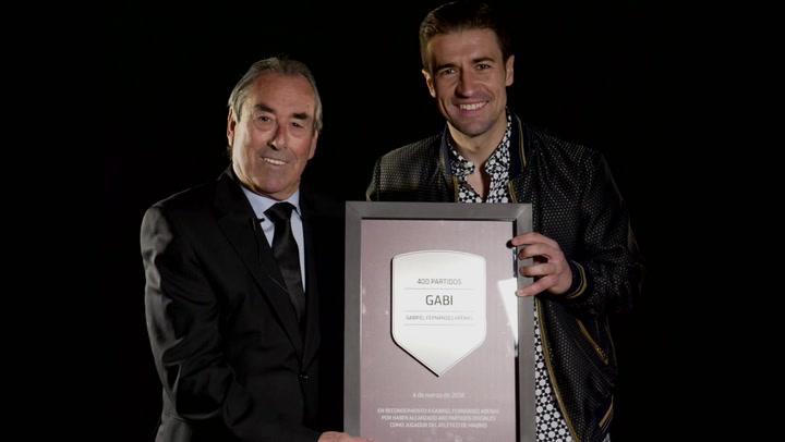 From legend to legend: Adelardo - Gabi