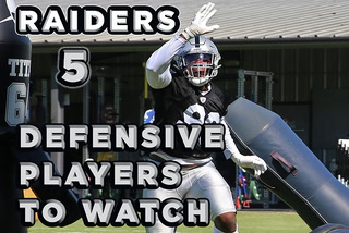 Five Raiders to Watch on Defense in 2019