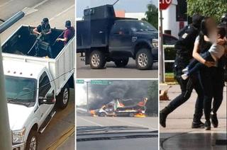 Caos y balaceras en Culiacán: Una tarde de terror tras captura del hijo del Chapo Guzmán