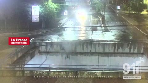 Video registró trágico accidente en que murieron dos jóvenes en Tegucigalpa