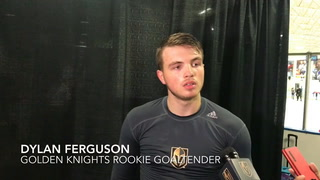 Dylan Ferguson excited about his shutout for Golden Knights