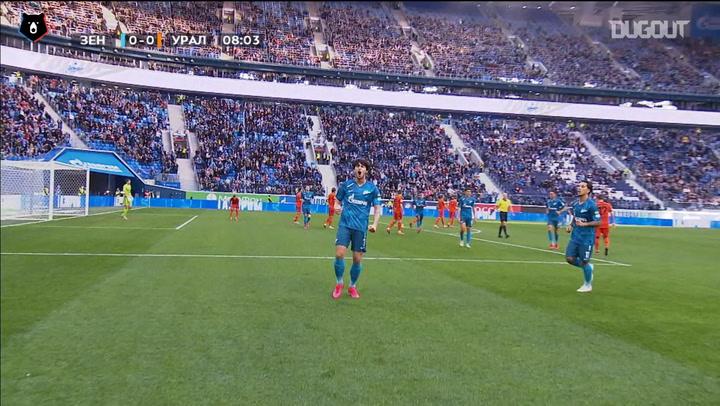 Serdar Azmoun's first career hat-trick
