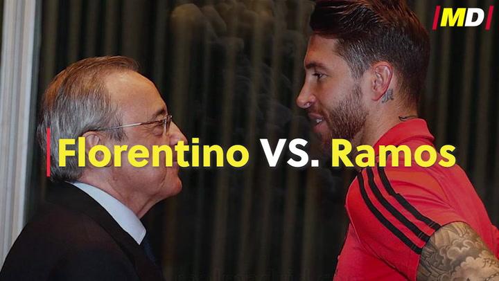 Florentino Pérez vs. Sergio Ramos