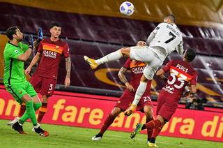La Juventus empata gracias al doblete de Cristiano Ronaldo frente a la Roma