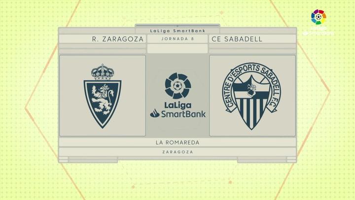 LaLiga SmartBank (J8): Zaragoza 0-0 Sabadell