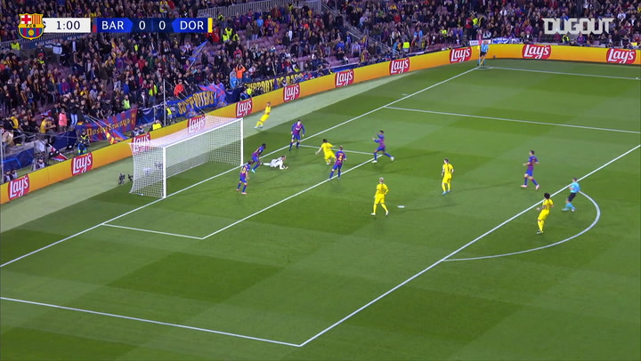 FC Barcelona Beat Borussia Dortmund 3-1