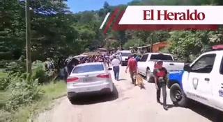 Accidente deja al menos 10 heridos en la aldea Los Limones