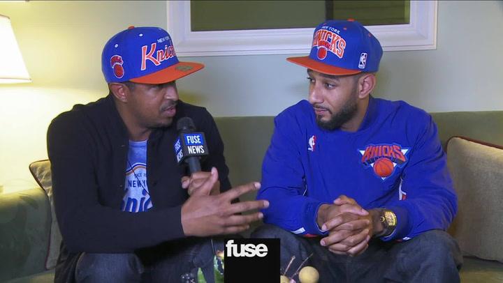 NY Knicks Tip Off With Swizz Beatz