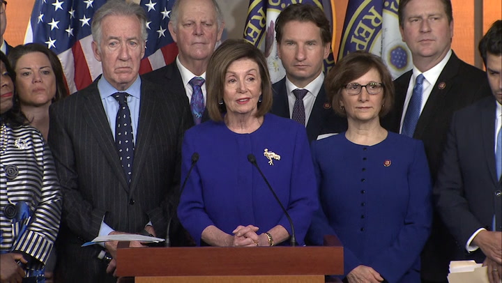 McCarthy alleges timing of Pelosi's announcement on USMCA was politically motivated
