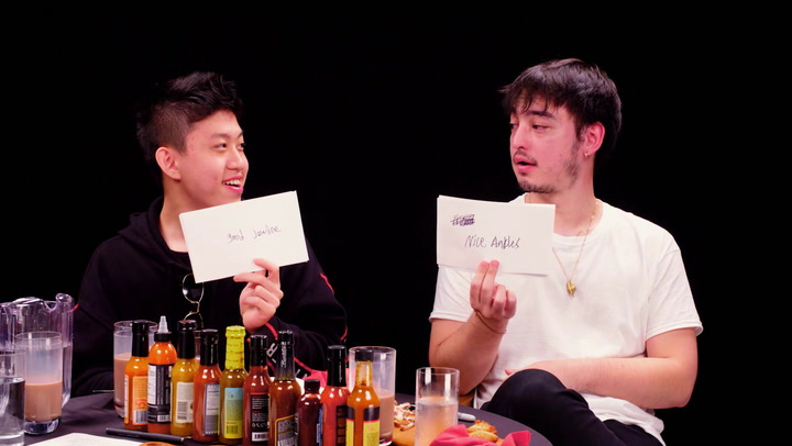 Joji and Rich Brian: Hot Ones