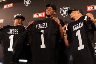 The Oakland Raiders first-round draft picks on the team heading to Vegas – VIDEO