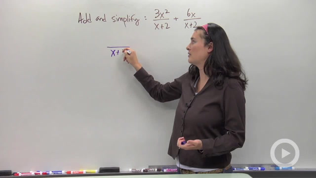 Adding and Subtracting Rational Expression - Problem 1